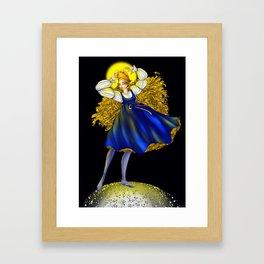 Holy Mary Lolita Framed Art Print