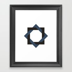 #252 Twine – Geometry Daily Framed Art Print
