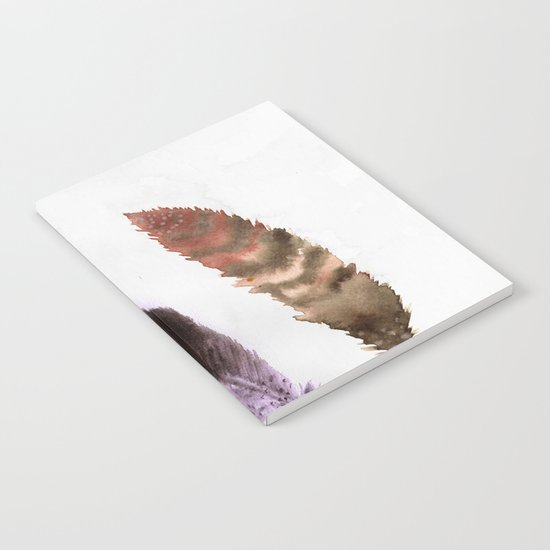 Feathers III Notebook