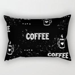 Coffee Black chalkboard  Rectangular Pillow