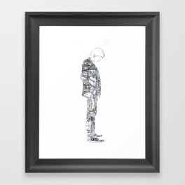 Man Of Things Framed Art Print