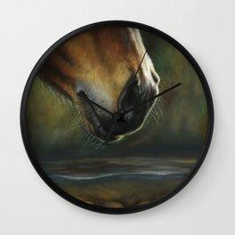 Equine Nose Wall Clock