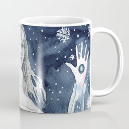 Snow Queen at the window Coffee Mug