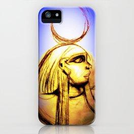 Hatshepsut Royal Blue iPhone Case