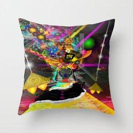 Kemetic Energy Throw Pillow