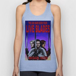 Live Blades cover Unisex Tank Top