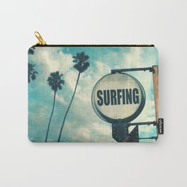 Surfing Sign Carry-All Pouch
