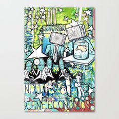 Visuals of Inexplicable Maybe, Act 2 Canvas Print