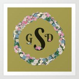 gsd Art Print