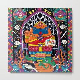 Pug Nang Kwak – Thai Goddess Of Wealth Metal Print