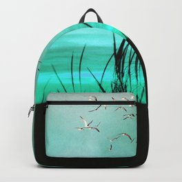 seagrass at sunrise Backpack