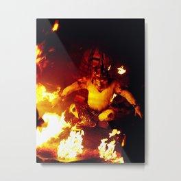 The Monkey King Metal Print