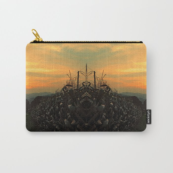 Cornfields with sundown | landscape photography Carry-All Pouch