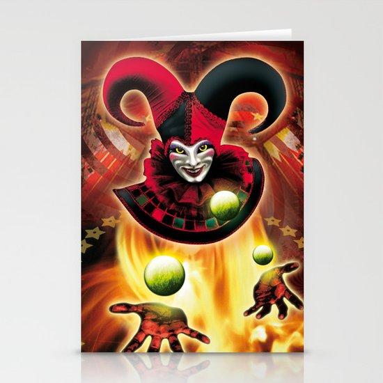 Poster Cirkus Stationery Cards