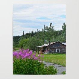 Pioneer Cabin - Alaska Poster