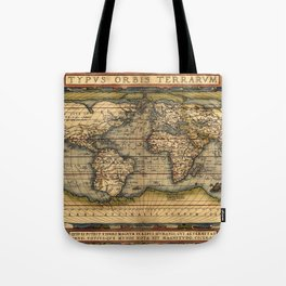 World Map 1570 Tote Bag