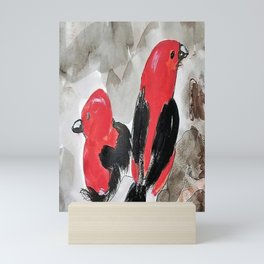 Scarlet Tanager  Mini Art Print