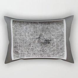 Black Stone Rectangular Pillow