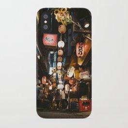 Omoide Yokocho. iPhone Case