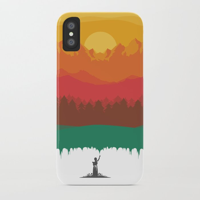Layers Of Nature iPhone Case