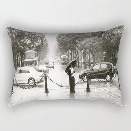 Paris Under the Arc de Triomphe on the Champs Elysees, 2003 Rectangular Pillow