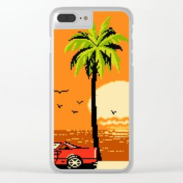 Sunny Avenue Clear iPhone Case