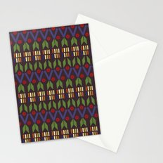 Geometric Shapes Stationery Cards