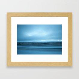 Iceland in slow motion #2 Framed Art Print