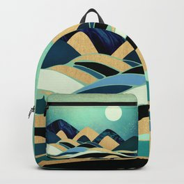 Emerald Evening Backpack