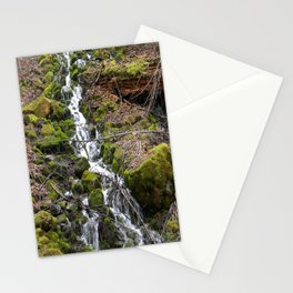 Flowing Spring down the mountainside... Stationery Cards