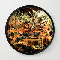nirvana Wall Clocks featuring Nirvana by 2700art