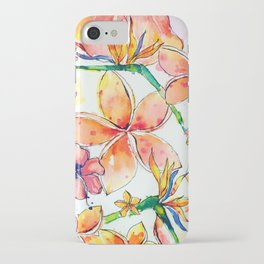 Beautiful tropical things iPhone Case