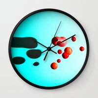 fruits Wall Clocks featuring Fruits by Ocso