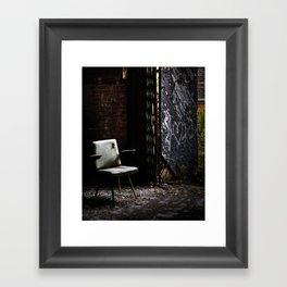 abandoned. Framed Art Print