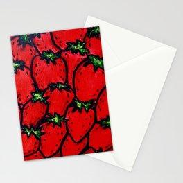 Strawberry jamboree Stationery Cards