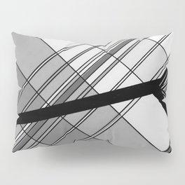 Gray Geometry 2 Pillow Sham