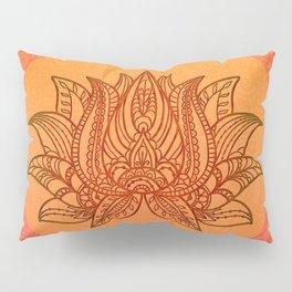 Lotus Flower of Life Meditation  Art Pillow Sham
