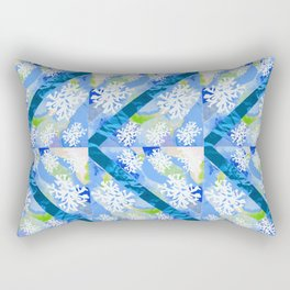 Water Rays Rectangular Pillow