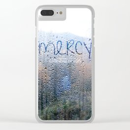 Unveiling Beauty - Mercy Clear iPhone Case