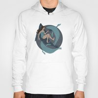 nautical Hoodies featuring nautical by Louise Hubbard
