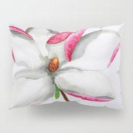 Watercolour Magnolia Pillow Sham