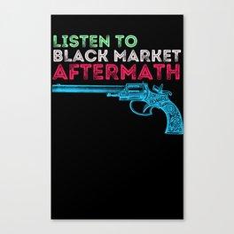 Gun Simple Alone Canvas Print