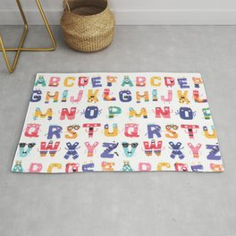 Fun with the ABC Rug