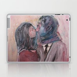 Lovers from Magrite Laptop & iPad Skin