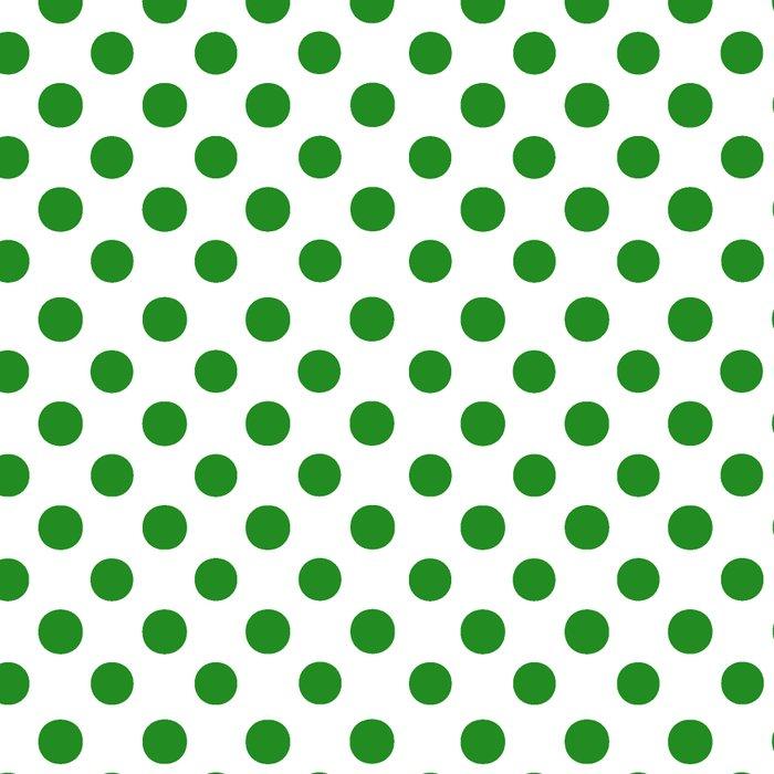 Polka Dots (Forest Green/White) Leggings