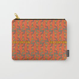 Sea for fun (red) Carry-All Pouch