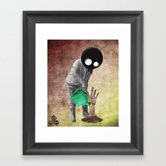 gardener Framed Art Print