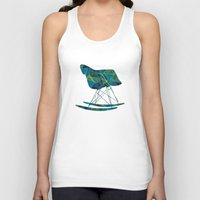 eames Tank Tops featuring Eames Rocker by Ruby