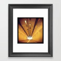 Tunnel Series- 2 Framed Art Print