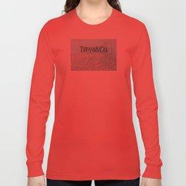 T - TIFFANY & CO Long Sleeve T-shirt